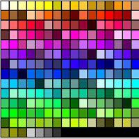 Fast CSS Color Selection Tool
